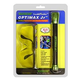 Show details of Tracerline (TP TP8640CS) OPTIMAX Jr. Cordless Fluorescent Leak Detection Flashlight.