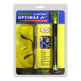 Show details of Tracerline OPTIMAXJr Cordless Fluorescent Leak Detection Flashlight.
