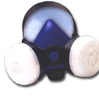 Show details of Survival Air Systems 2761-00 Professional Large Blue Half Mask Respirator.
