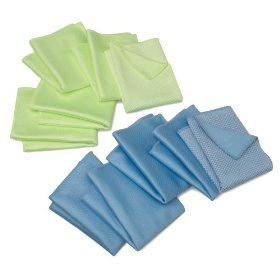 Show details of Zwipes Microfiber Windshield & Glass Cloth 10-Pack.