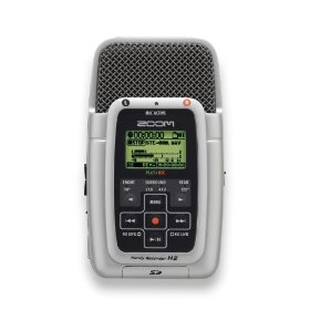 Show details of Zoom H2 Handy Portable Stereo Recorder.