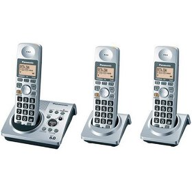 Show details of Panasonic Dect 6.0 Series 3 Handset Cordless Phone System with Answering System (KX-TG1033S).