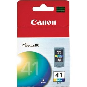 Show details of Canon CL-41 Color FINE Ink Cartridge.