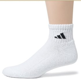 Show details of Adidas Men's Quarter Athletic Socks, 6-Pack.