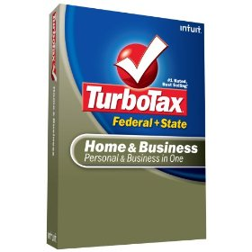 Show details of TurboTax Home & Business Federal + State + eFile 2008.