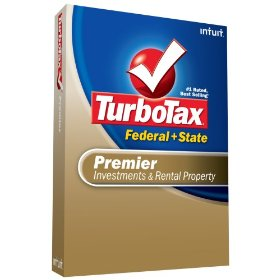 Show details of TurboTax Premier Federal + State + eFile 2008.