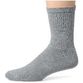 Show details of Hanes Classic Men's 6-pack Cushion Crew Socks.