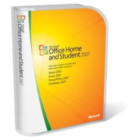 Show details of Microsoft Office Home and Student 2007.