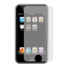 Show details of iKross 3-Pack Premium Reusable LCD Screen Protector with Lint Cleaning Cloth for iPod touch (Clear).