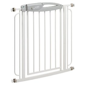 Show details of Evenflo Summit Pressure Mounted Metal Gate.