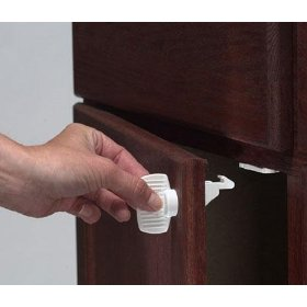 Show details of Magnet Locks by Kidco (4 locks per package - key sold separately).
