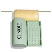 Show details of Clinique Facial Soap with Dish.