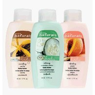 Show details of Avon NATURALS Mini Body Lotion.