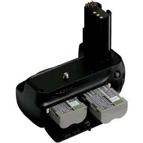 Show details of Nikon MB-D80 Multi-Power Battery Pack for the Nikon D80 & D90 Digital SLR Camera.