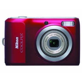 Show details of Nikon Coolpix L20 10MP Digital Camera with 3.6 Optical Zoom and 3 inch LCD (Deep Red).