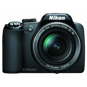 Show details of Nikon Coolpix P90 12.1MP Digital Camera with 24x Wide Angle Optical Vibration Reduction (VR) Zoom and 3 inch Tilt LCD.