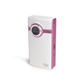 Show details of Flip Video Ultra Series Camcorder, 60 Minutes (Pink).
