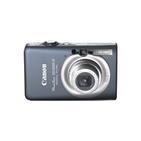Show details of Canon PowerShot SD1200IS 10 MP Digital Camera with 3x Optical Image Stabilized Zoom and 2.5-inch LCD (Dark Gray).