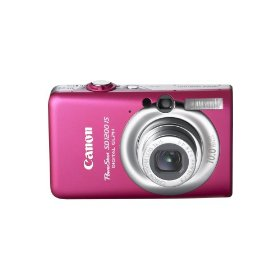 Show details of Canon PowerShot SD1200IS 10 MP Digital Camera with 3x Optical Image Stabilized Zoom and 2.5-inch LCD (Pink).