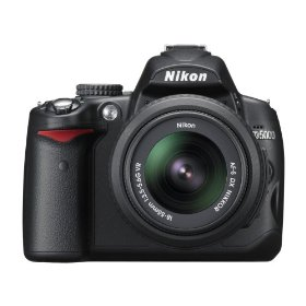 Show details of Nikon D5000 12.3 MP DX Digital SLR Camera with 18-55mm f/3.5-5.6G VR Lens and 2.7-inch Vari-angle LCD.