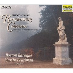 Show details of Bach - The Complete Brandenburg Concertos / Pearlman, Boston Baroque [BOX SET] .