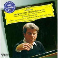 Show details of Brahms: Concertos for Piano No. 1 & 2, Fantasia Op. 116 [IMPORT] [ORIGINAL RECORDING REMASTERED] .