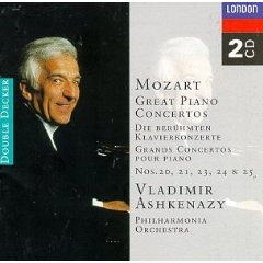 Show details of Mozart: Great Piano Concertos.