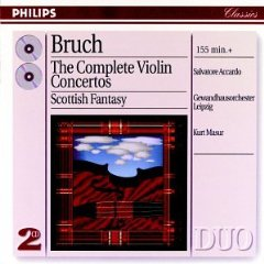 Show details of Bruch: The Complete Violin Concertos.