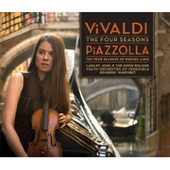 Show details of Vivaldi: The Four Seasons; Piazzolla: The Four Seasons of Buenos Aires [Hybrid SACD] [SUPER AUDIO CD] .