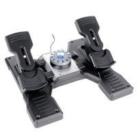 Show details of Saitek Pro Flight Rudder Pedals.