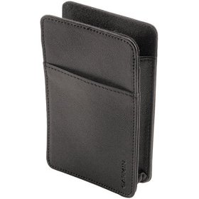 Show details of GARMIN 010-10823-01 Leather Carrying Case For Nuvi Travel Assistant.