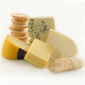 Show details of Four Continents of Cheese on a Budget (2 pound) by igourmet.com.