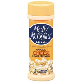 Show details of Molly McButter Natural Cheese Flavor Sprinkles: 2 OZ.