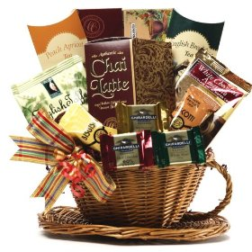 Show details of You're My Cup of Tea Gourmet Food Gift Basket - a Great Gift For Her!.