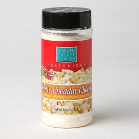 Show details of Popcorn Seasoning - White Cheddar.