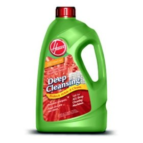 Show details of Hoover 40321128 Deep Cleansing Carpet/Upholstery Detergent, 128-Ounce.