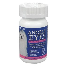 Show details of Angels' Eyes Tear-Stain Eliminator for Dogs, 30 Gram Bottle.