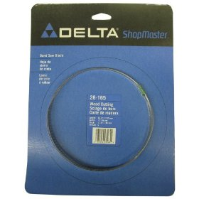 Show details of Delta 28-165 Bench Band Saw Blade 56-1/8-Inch x 1/4-Inch, 6 Teeth per Inch.