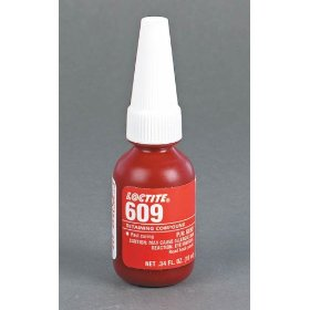 Show details of Loctite NSF 61 609 10ml Press Fit General Purpose Retaining Compound Bottle.