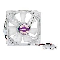 Show details of Antec PRO 120MM DBB 120mm Double Ball Bearing Pro Case Fan with 3-Pin & 4-Pin Connector.