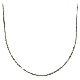 "Show details of Sterling Silver 1.5mm Italian Spiga Chain Necklace, 16""."