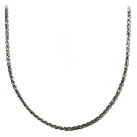 "Show details of Sterling Silver 2mm Diamond-Cut Rope Chain Necklace, 16""."