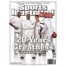 Show details of Sports Illustrated Kids (6-month) [MAGAZINE SUBSCRIPTION] [PRINT] .