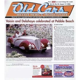 Show details of Old Cars Weekly (1-year) [MAGAZINE SUBSCRIPTION] .