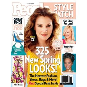 Show details of PEOPLE StyleWatch (1-year) [MAGAZINE SUBSCRIPTION] [PRINT] .