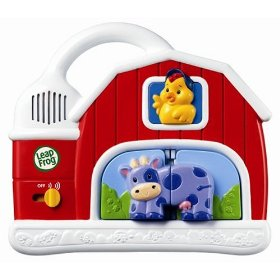 Show details of LeapFrog Fridge Farm Magnetic Animal Set.