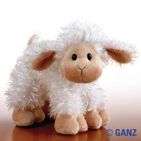 Show details of Lil'Kinz Mini Plush Stuffed Animal Lamb.