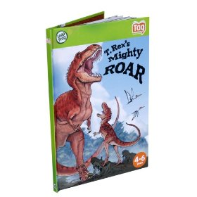 Show details of LeapFrog�  Tag Activity Storybook T. Rex's Mighty Roar.
