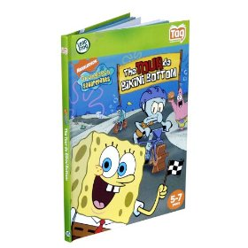 Show details of LeapFrog�  Tag Activity Storybook SpongeBob SquarePants: The Tour de Bikini Bottom.