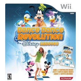 Show details of Dance Dance Revolution Disney Grooves Includes Two Dance Mats.